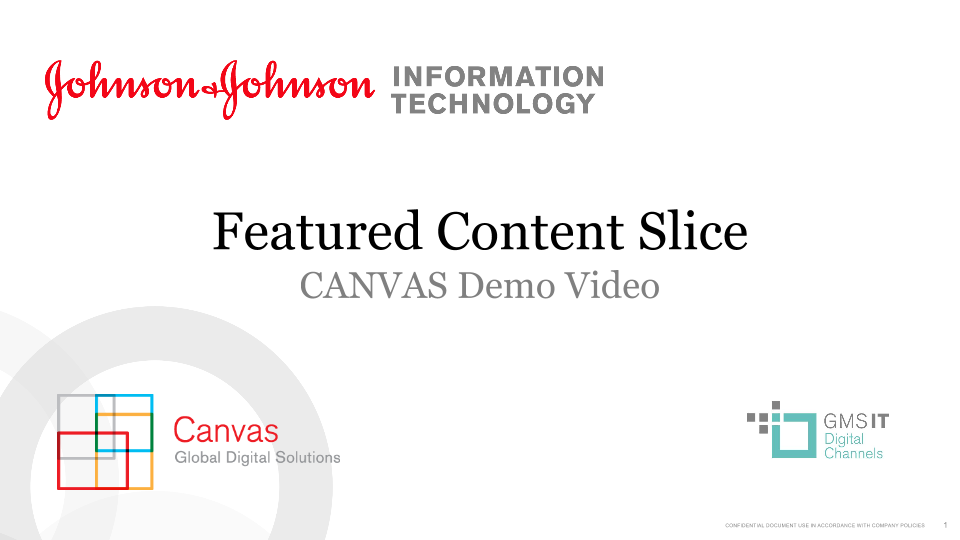 Featured Content Slice