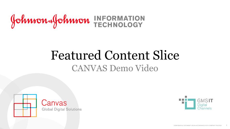 Featured Content Slice