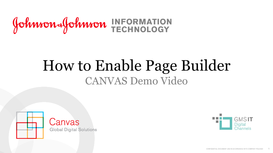 How to Enable Page Builder
