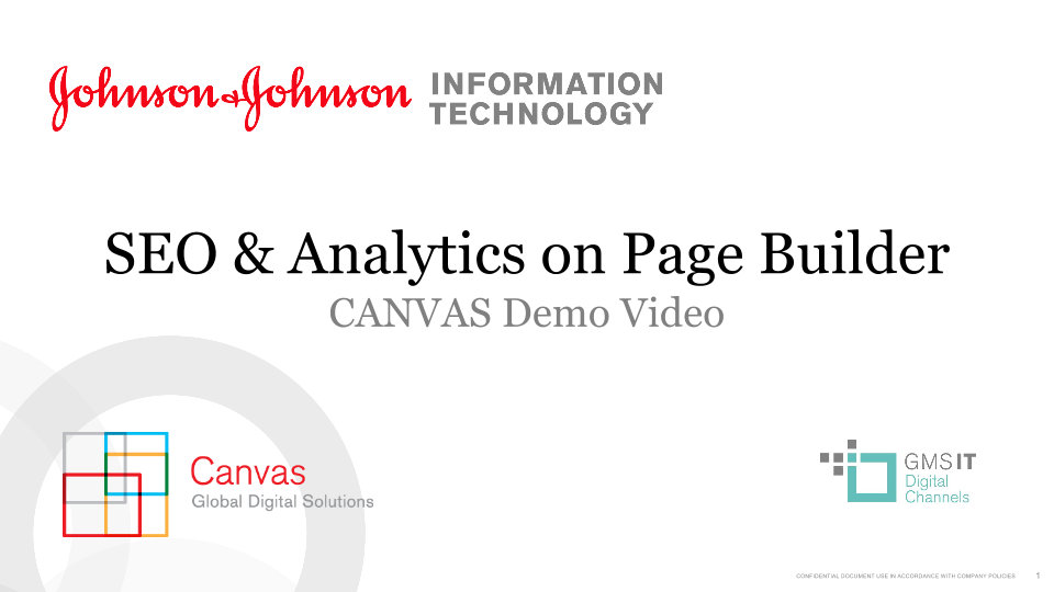 SEO & Analytics on Page Builder
