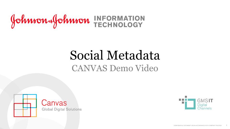 Social Metadata