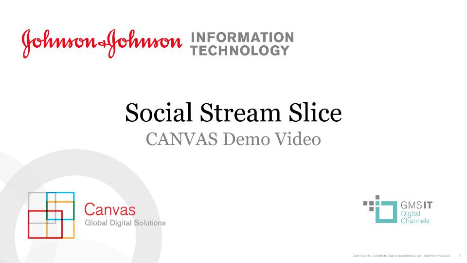 Social Stream Slice