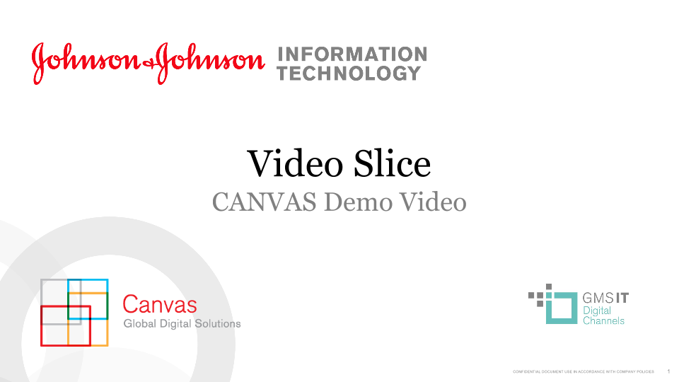 Video Slice